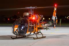 Aerospatiale SA342M Gazelle (Steve Matterface) Tags: aerospatiale specialscheme special tiger gazelle northolt 3rhc sa342 nightshoot armeedeterre frencharmy alat