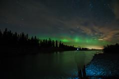 Ghosting Aurora (Len Langevin) Tags: aurora borealis northern lights color night longexposure alberta canada reddeerriver sundre nikon d300s tokina 1116