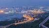 61快速 (jineminglee180) Tags: freeway light ocean sea stars car canoneosm color tokina1224mm taiwan
