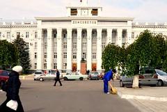 Street Shot - Tiraspol City Hall, Transnistria (KelSquire.GlobeCaptures) Tags: communist communism tiraspol transnistria europe
