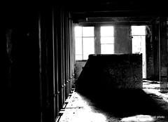 _DSC2207 (Lorenzo Luzi) Tags: allaperto blackandwhite blancoynegro noiretblanc decay abandonedplace abandoned factory lluziph bianconero light luci silhouette broken urban urbanexplorer giocodiluci ombre ombra dark