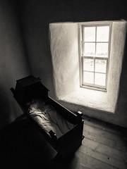 Cradle By The Window (kckelleher11) Tags: 1240mm 2016 cradle ireland olympus september black em5 mzuiko omd trip white window