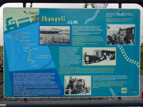 CVE Information on the former narrow gauge railway.