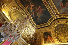 Versailles Ceiling (big_jeff_leo) Tags: paris louis versailles palace architecture gold heritage building statelyhome historic art ceiling fresco imperial unesco hallofmirrors french royal