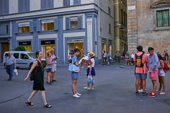 mingle minds (Carey Moulton) Tags: street decisive moment people urban life florence italy