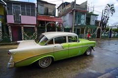 Classic 1950s Bel Air in Fusterlandia (Steve Bahcall) Tags: cuba car vehicle vintage color travel havana belair 1950s habana fusterlandia tokina1116