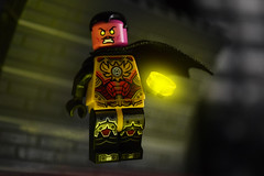 Forever Evil: Sinestro (Andrew Cookston) Tags: lego dc comics dccomics thaal sinestro corps foreverevil power ring yellow parallax fig barf build moc photoshop custom minifig stilllife toy nikon macro photography andrewcookston