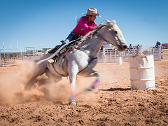 Barrel Racer (_bobmcclure_) Tags: barrel racer tuba city arizona rodeo cowgirl