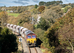 RJW_2016_10_20 _1002 (Rails West) Tags: 6c01 chinaclay class66 cornishbranches cornwall ews66 lanjeth locations parkandillack 66168