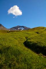 Lonesome cloud over Mount Pallahnjúkur in Siglufjördur, North of Iceland (thorrisig) Tags: 06082016 pallahnjãºkur siglufjã¶rã°ur grã³ã°ur skurã°ur skã½ iceland ísland island thorrisig thorfinnursigurgeirsson thorri þorrisig thorfinnur þorfinnur þorri þorfinnursigurgeirsson sigurgeirsson sigurgeirssonþorfinnur dorres northoficeland norðurland tröllaskagi fjall fjöll pallahnjúkur hólsdalur siglufjörður siglufjord siglufjordur clouds cloud lonesome sky himinn himininn