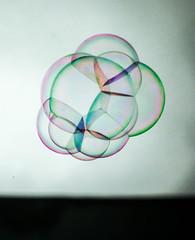 Magic soap bubbles (dr.iuliamatei) Tags: soap bubbles colors canon hellios 44 m42 glass geometric air liquid fly