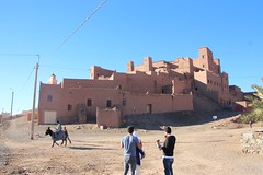Kasbah Oulad Othmane in the Draa valley (John Englart (Takver)) Tags: morocco draa transport donkey kasbah ouladothmane