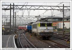 Captrain 1621+Grenland Rail 6448+6446+NSB 73106 - Amsterdam Centraal - 47607 (03-12-20136) (Vincent-Prins) Tags: captrain 1621 grenlandrail 6448 6446 nsb bm73 73106 centraal 47607 amsterdam