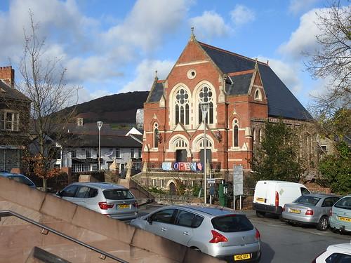 Shop & Chapel, Cross Street, Abergavenny 9 November 2016