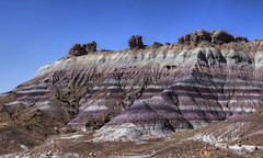 Colorful Layers (Rik Tiggelhoven Travel Photography) Tags: color colorful layers blue mesa petrified forest national park np nps service painted desert outdoor scenery scene nature mountain rock formation rockformation landscape landschaft landschap landskap paysage paisagem paisaia paisaje paisaxe arizona usa america amerika canon 6d fullframe ef24105mmf4lisusm rik tiggelhoven travel photography