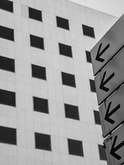 #<- (Régis Corbet) Tags: abstraction blackwhite cityscape europe fr fra france hautsdeseine landscape noirblanc paysage paysageurbain puteaux townscape îledefrance