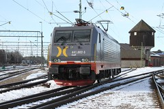 Hector Rail 441, Hallsberg 2013-03-14 (Michael Erhardsson) Tags: ellok hallsberg mars 2013 train trainspotting hectorrail croft br 441 lokstation