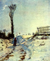 Hollow in snow (artmuse10) Tags: armand guillaumin