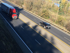 New striping on Highway 30-11.jpg (BikePortland.org) Tags: bikelanes dirty30 highway30