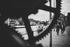 Time will tell (mripp) Tags: germany deutschland bamberg oberfranken upper franconia gernmany europa europe street kranen regnitz urban city stadt black white mono monochrom art kunst sony alpha 7rii silhouette heritage kulturerbe zeit zeiten timing timeline limit milestone pressure zeitdruck
