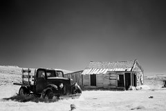 Bodie (priscellie) Tags: ghosttown bodie california landscape abandoned derelict goldrush infrared western