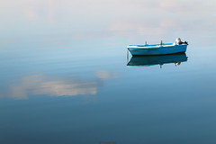 Relaxing @ the lake (Yannis Raf) Tags: canon canoneos70d eos70d ef24105mmf4lisusm ef24105mmf4 portoheli boat lake calm minimal mood peaceful relaxing reflections greece