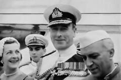 Edwina Mountbatten with Lord Mountbatten and Pandit Nehru (Doc Kazi) Tags: india pakistan history partition independence mountbatten nehru jinnah liaquat baldev kripalani radcliffe din mohammad munir judges burma