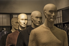 THE USUAL SUSPECTS (akahawkeyefan) Tags: mannequin lasvegas davemeyer store display clothes