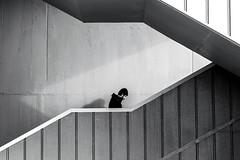 stairs (Berkan Byktmbk) Tags: street streetphotography streetphoto streetphotobw stairs fujifilm xt1 bw blackandwhite monochrome walking man bridge outdoor human people geometry