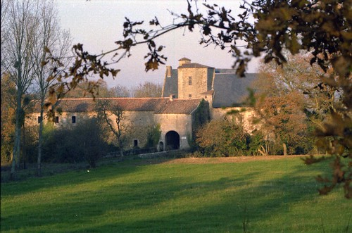 3a -Le Château de LA BLANDINIERE LA CHAPELLE LARGEAU