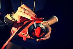 So Parisienne (mathilde.ec) Tags: molitor ring handbag rednails parisienne sorbet gold afterwork soire mathildeec