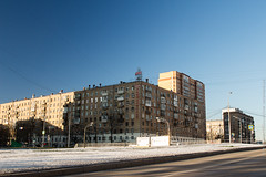 Welcome to Danilovsky District (Wholesale of Void) Tags: moscow moscowcity november winter daylight sunlight clearsky road traffic skyine cityscape danilovsky residential residentialdistrict avenue blue sky urban street danilovskydistrict