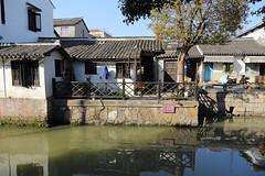 Xinchang Ancient Town in Pudong, Shanghai (RH&XL) Tags: watertown shanghai china xinchang town pudong