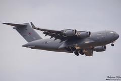 Royal Air Force --- Boeing C-17A Globemaster III --- ZZ177 (Drinu C) Tags: adrianciliaphotography sony dsc hx100v mla lmml plane aircraft aviation military raf royalairforce boeing c17a globemaster iii zz177