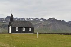 Hellnar Church (EC@PhotoAlbum) Tags: islanda iceland snaefell snaefellsnesspeninsula snaefelljokull landscape paesaggio church hellnar village