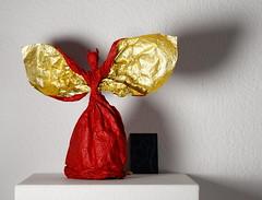 Mini Luzy (Yureiko) Tags: yureiko skulptur sculpture papierfalten papier art kunst origami paperfolding paper   shiborigami