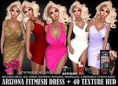 ARIZONA FITMESH DRESS PIC (brajeet.resident) Tags: secondlife womens fashion apparel pizazz pzc fitmesh belleza maitreya slink werewolf venus isis freya lara hourglass physique jomo