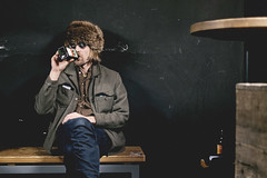 337/366 jussi (Niko Saarinen) Tags: portrait finnish man finland suomi jgermeister shades fujifilm xe2 fujinon35mm classicchrome