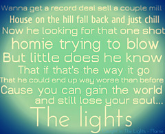 Flame (stuckfoabuck2010) Tags: lights lyrics flame hip hop rap caught 6th the in