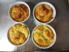 French Cheese Souffle (UnarguablyDelicious) Tags: cheese french child julia delicious souffle unar
