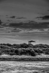 By The Bay (Law H8r) Tags: sea blackandwhite bw monochrome coast seaside shore dorset southcoast seashore hdr mudeford
