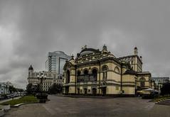 The National Academic Opera and Ballet Theatre of Ukraine        (Valery Parkhomenko) Tags: opera ukraine nikond50 1855 kyiv panoram