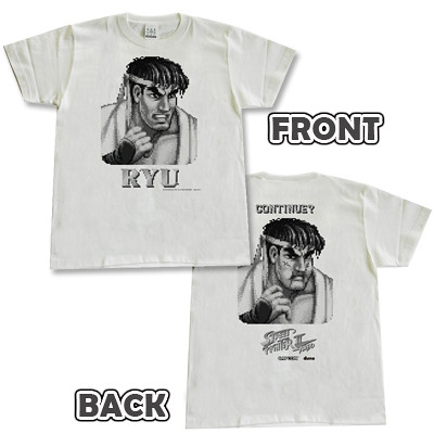 超經典衰樣商品化!快打旋風2懷舊T恤推出!