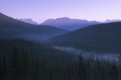 The Other Side (navid1984) Tags: sunrise dawn valley morningmist morainelake canadianrockies nikonnikkorafs2470mmf28ged