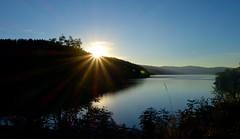 Sonnenuntergang am Schluchsee (Elsbeth7) Tags: deutschland see wasser sonnenuntergang schwarzwald stimmung schluchsee