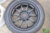 DSC_0356 (Blazedd) Tags: black color flat wheels racing 45 16 rays custom rims 42 matte jdm volk 215 blk blazed hankook ce28n ce28 16x7 blazedd 2154516