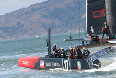 America's Cup (shaire productions) Tags: ocean sf sanfrancisco sports water sport boats bay boat photo sailing shot image contest picture photojournalism competition pic photograph boating sail sfbayarea americascup narrative imagery photojournalist boatrace sailingcompetition sfamericascup sfamericacup