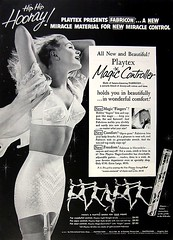 66 1953 (Undie-clared) Tags: girdle playtex magiccontroller