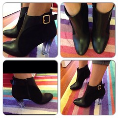 I bought these boots. I <3 them a lot.