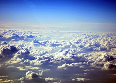 Clouds (Heaven`s Gate (John)) Tags: travel blue vacation sky sunlight holiday topf25 clouds landscape flight grenada caribbean height upupandaway 10faves 25faves johndalkin heavensgatejohn